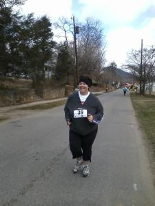 My first 5K in 2012.